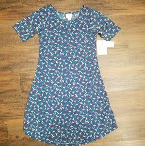 LULAROE Adeline dress Brand New! Kids 12